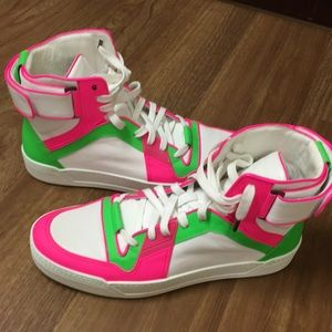 243384e76b2 Gucci Shoes - Gucci Men s Basketball High-Top Sneakers